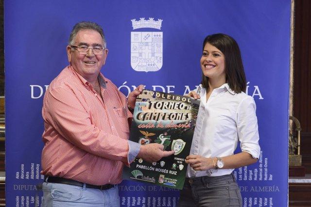 El Torneo de Campeones 'Costa de Almería' se disputará en el Moisés Ruiz.