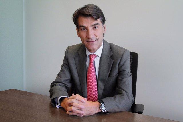 El consejero delegado de Ficosa, Javier Pujol