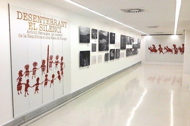 La exposición 'Desenterrando el silencio' en la UAB