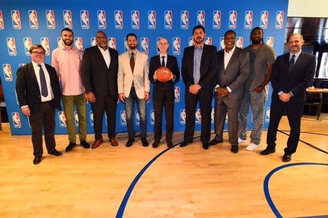 Presentación de los Embajadores europeos de la NBA