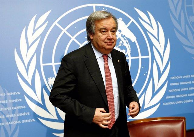 António Guterres, antiguo responsable de ACNUR