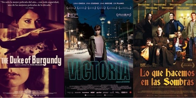 The Duke of Burgundy / Victoria / Lo que hacemos en las sombras
