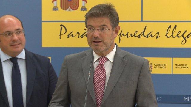 """Catalá: """"no hay contaminación política"""" en la Fiscalía"""