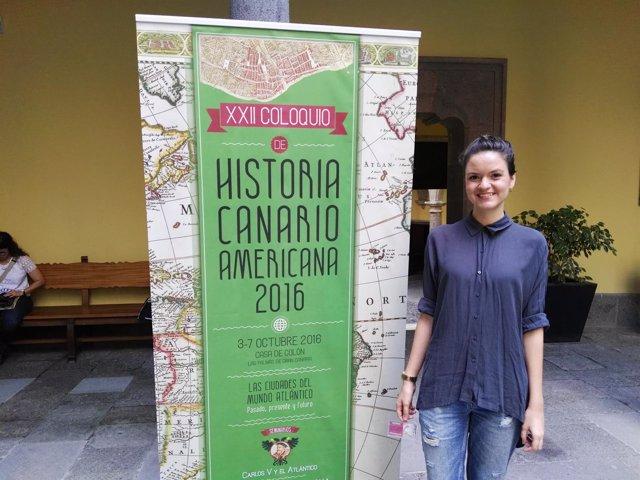 La historiadora Nieves Delisau