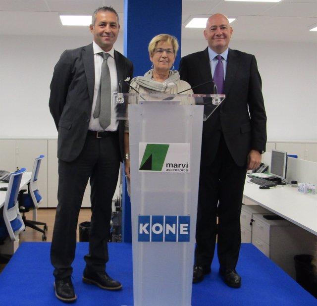 Inaguración de las oficinas de Kone en Lleida
