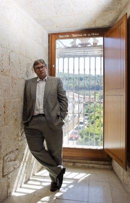 El escritor Juan Manuel de Prada