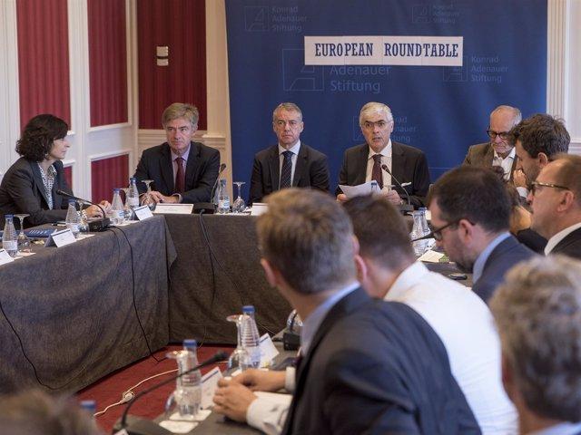 Urkullu en la European Roundtable 2016