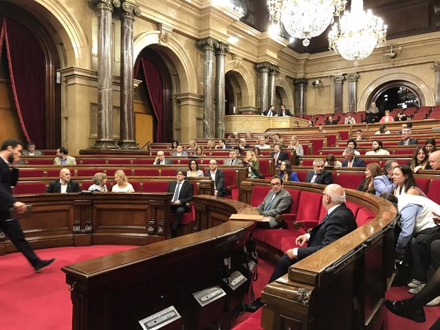 Pleno del Parlament del Debate de Política General