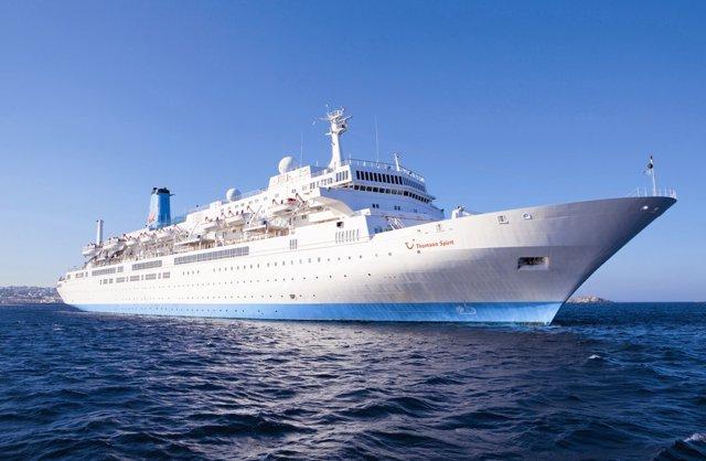 Buque spirit Thomson cruises base en málaga 2016 de mayo a octubre