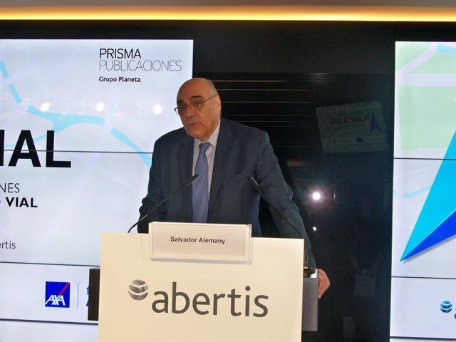 Presidente de Abertis, Salvador Alemany