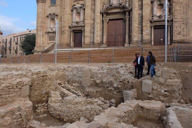 Descubren el ábside de una basílica visigoda del siglo VI en Tortosa