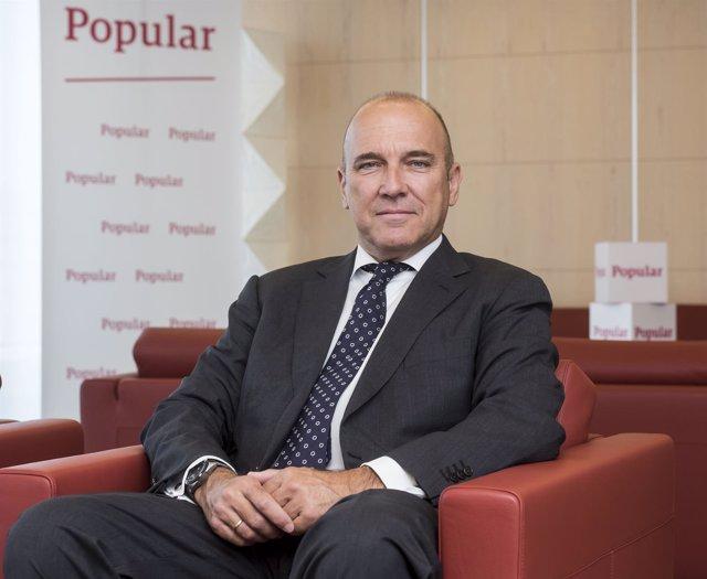 Pedro Larena, consejero delegado de Banco Popular