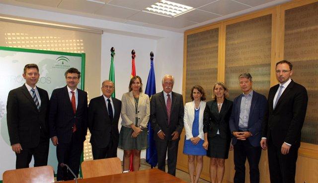 FOTO Y NOTA DE PRENSA: EXTENDA ACOGE LA ASAMBLEA ANUAL DE LA CONFEDERACIÓN EUROP