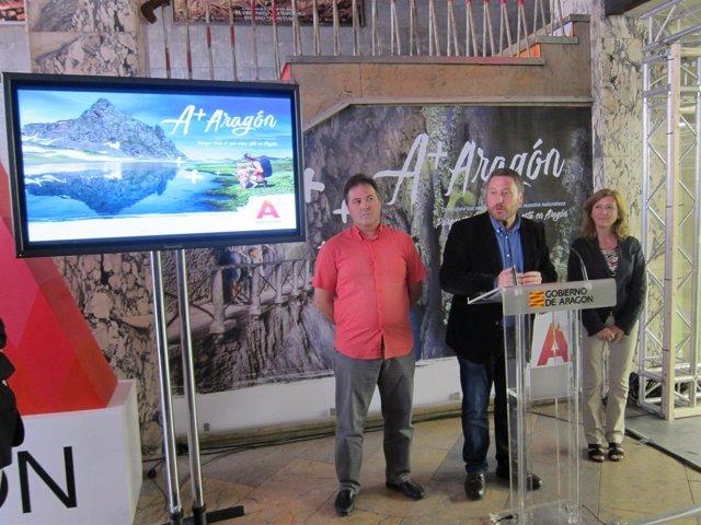 Psoro presenta la campaña turística 'A+Aragón'