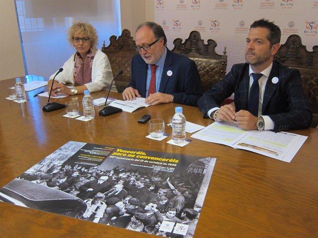 Maite Conesa, Mariano Esteban Y Julio López Presentan Los Actos