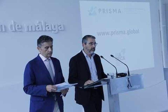 El vicepresidente de la Diputación, Francisco Salado en rueda de prensa