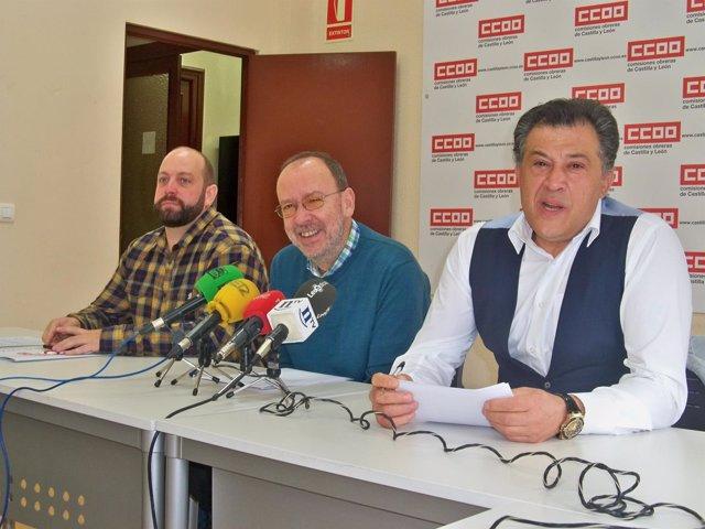 Ángel Santos González, Ignacio Fernández Y José Carlos Mencía
