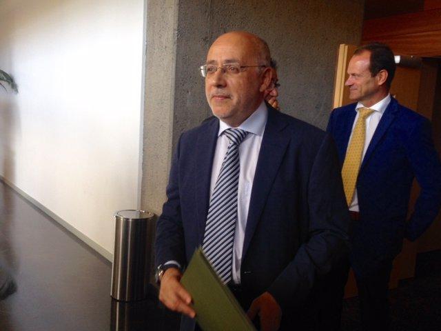 Presidente del Cabildo de Gran Canaria, Antonio Morales