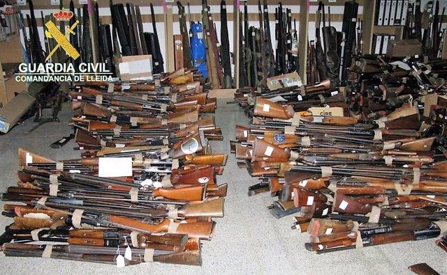 Armas de la comandancia de Lleida