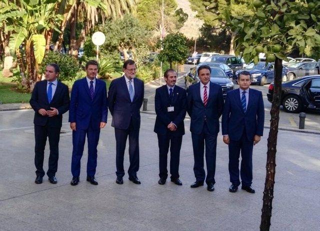 MAriano Rajoy bendodo catalá decano ica malaga sanz y ortiz