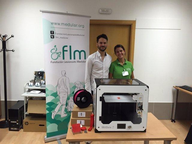 La Fundación Lesionado Medular incorpora una impresora 3D