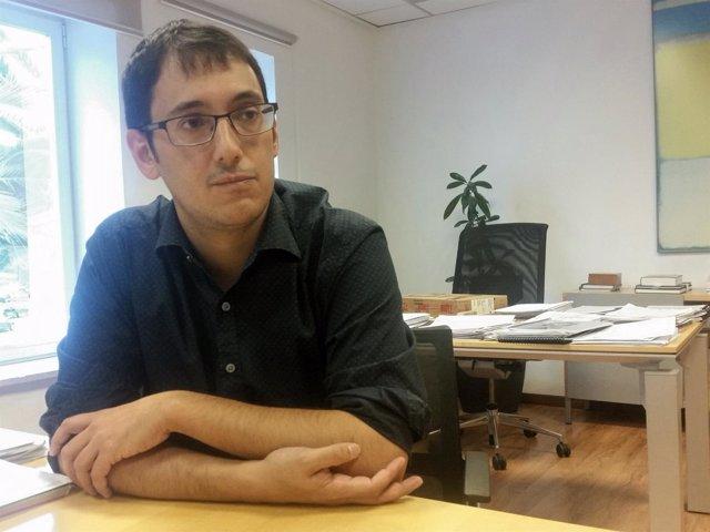 El conseller de Trabajo, Comercio e Industria, Iago Negueruela