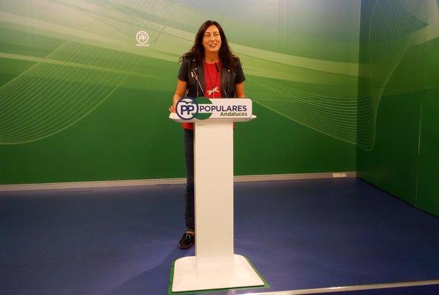 Dolores López, secretaria general del PP-A
