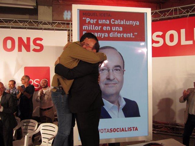 Pedro Sánchez , M.Iceta (PSC)