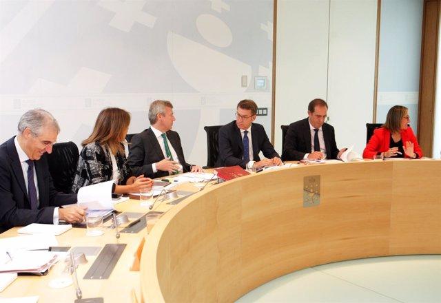 O titular do Goberno galego en funcións, Alberto Núñez Feijóo, presidirá a reun