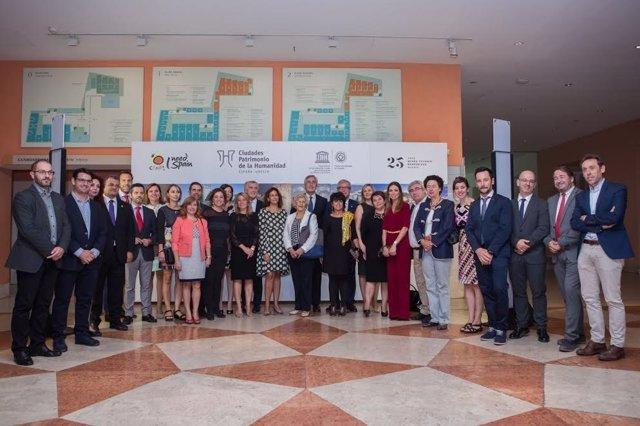 Presentación de la oferta de las Ciudades Patrimonio en Madrid