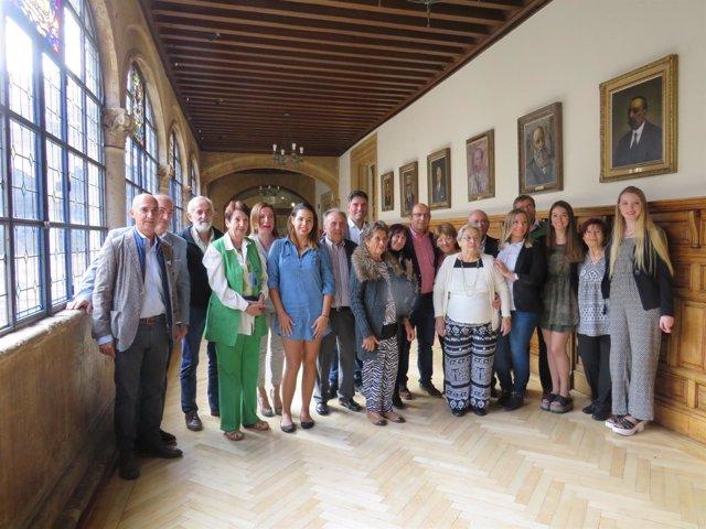 La Diputación De León Recibe A Los 11 Participantes De Los Programas 'Añoranza'