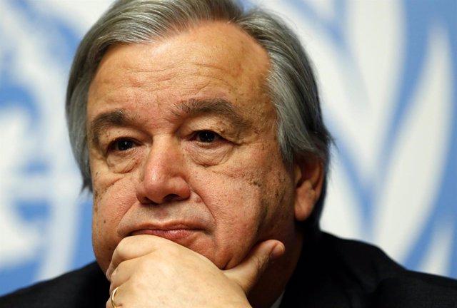 António Guterres, antiguo alto responsable de ACNUR