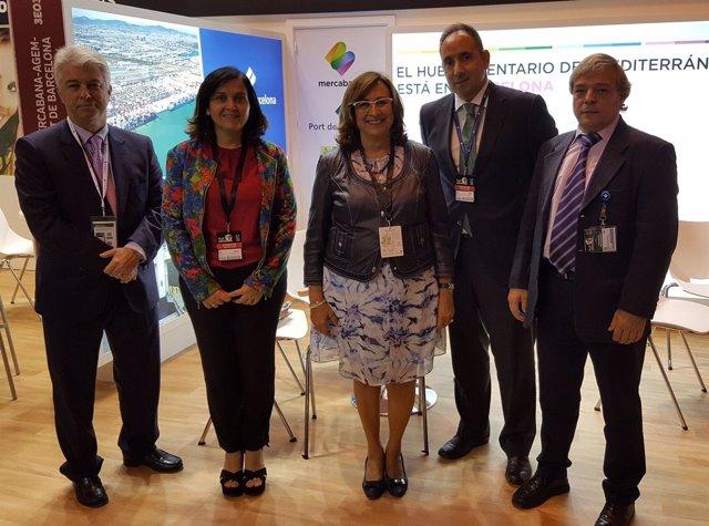 M.Galán, A.Arévalo, R.Puig, C.Mayol y M.A.Palomero en Madrid