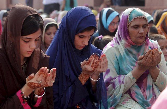 Mujeres paquistaníes