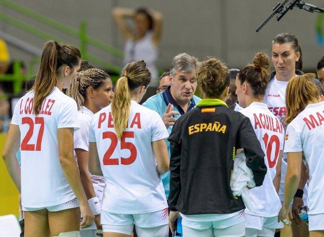 El Seleccionador Español De Balonmano Femenino, Jorge Dueñas