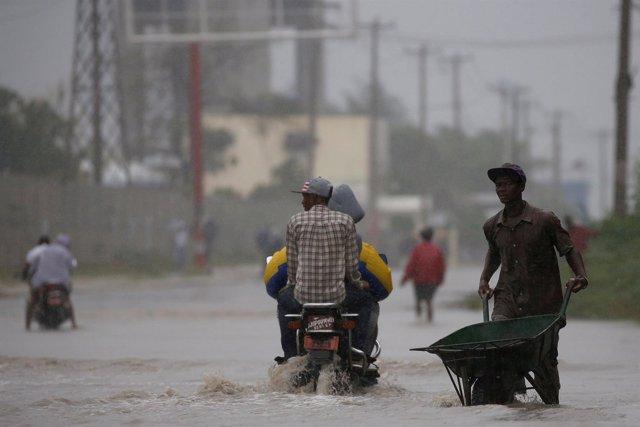 Efectos del paso del huracán 'Matthew' por Haití