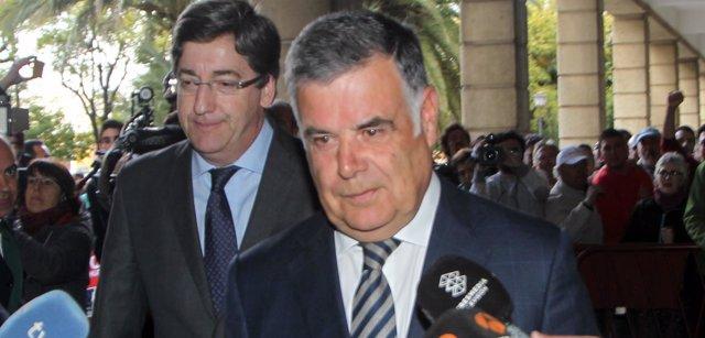 Jose Antonio Viera En Juzgado De Sevilla