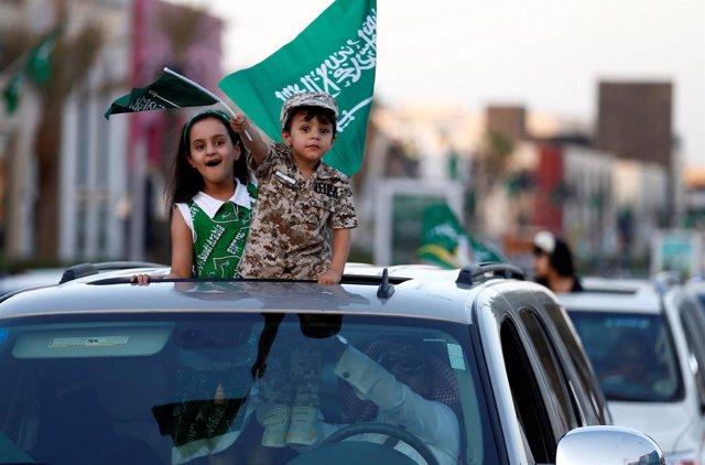 Niños en Arabia Saudí