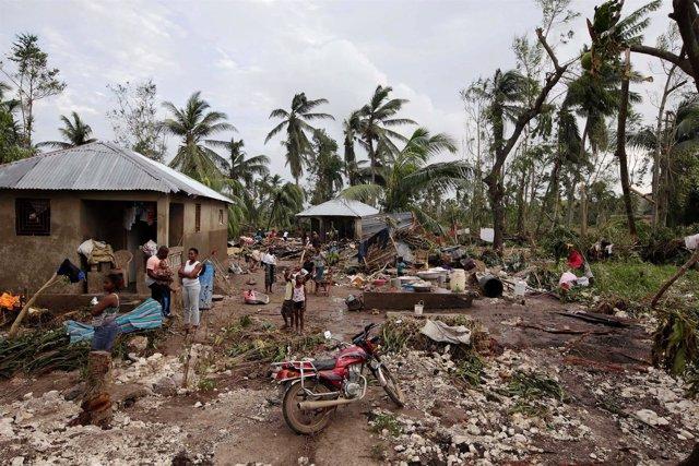Haití tras el paso del huracán 'Matthew'