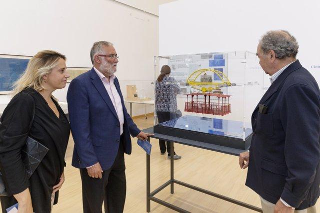 Inauguración de la exposición sobre Leonardo Torres Quevedo