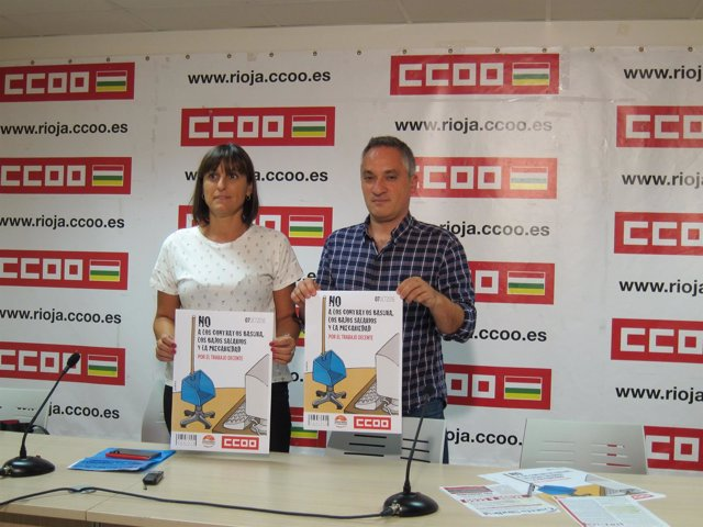 Cristina Faciaben y Jorge Ruano