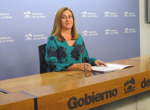 La portavoz del Gobierno Begoña Martínez informa del Consejo de Gobierno