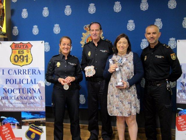 Acto de presentación de la I Carrera Policial Noctura 'Ruta 091'.