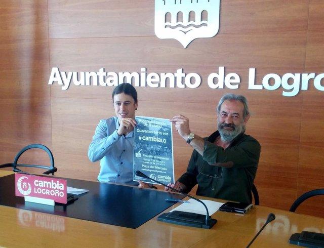 Peña y Zúñiga, en la rueda de prensa