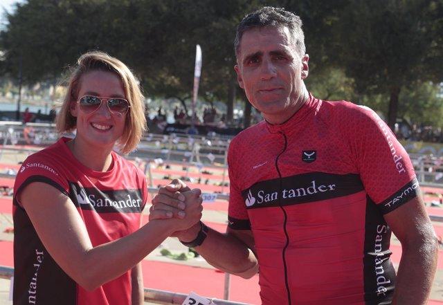 Mireia Belmonte y Miguel Indurain