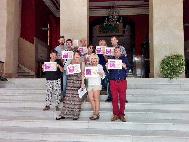 Movimiento Democrático de Mujeres, Diputación de Toledo