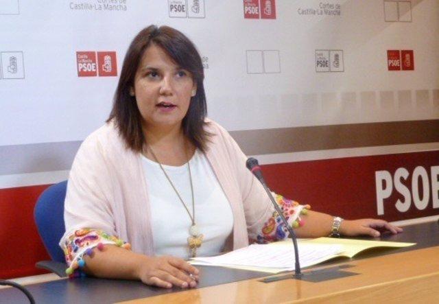 Agustina García, diputada del PSOE en las Cortes de C-LM