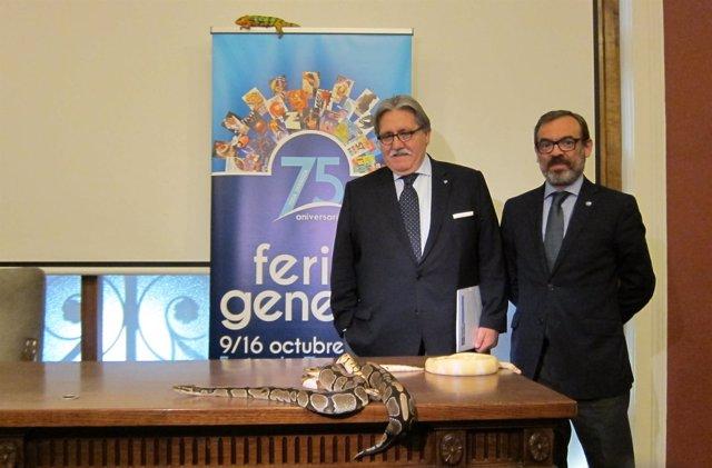 Teruel y Cuairan presentan la Feria que tendrá una muestra de reptiles.