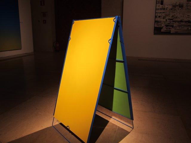 Políptico de sabores, de Misha Bies Golas, premio de pintura madel 2016