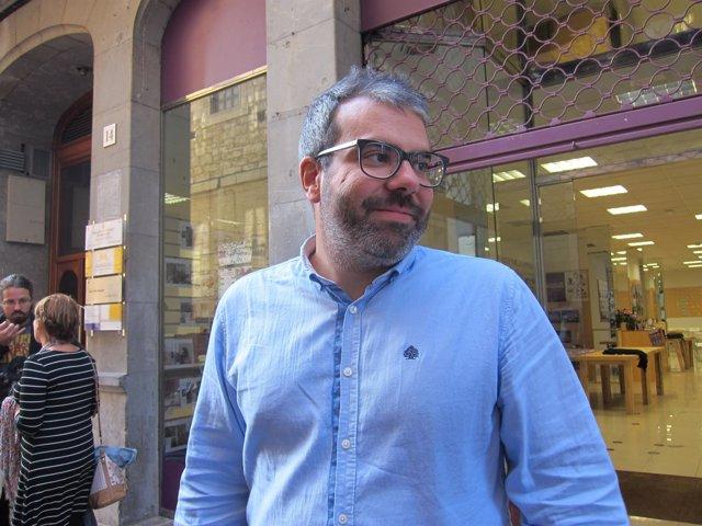 Xuacu Rodríguez, secretario de Organización de Podemos Asturies
